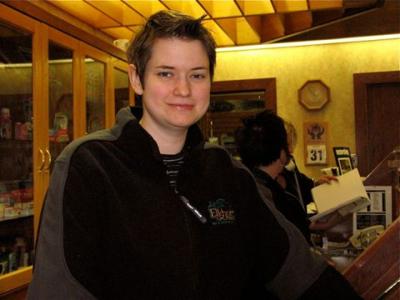Leslie Reid, Front Desk Manager, Elkhorn Resort and Solstice Spa. Manitoba. Canada
