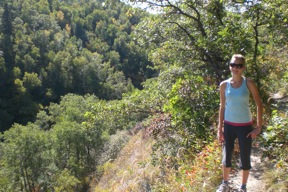 Hiking Gorge Creek Trail - Photo courtesy Riding Mountain National Park