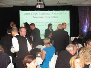 TIAC - Canadian Tourism Summit Gala dinner and National Tourism Awards of Excellence