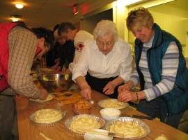 Making Easter Breads in Dauphin Manitoba