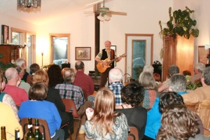 Valdy Home Routes House Concert, Onanole, Manitoba