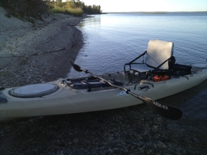 Kayak, Clear Lake, Riding Mountain, Earth Rhythms, Manitoba Canada